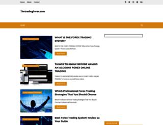 thetradingforex.com screenshot