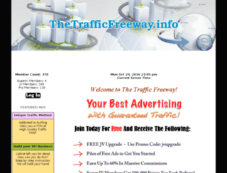 thetrafficfreeway.info screenshot