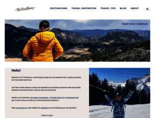 thetravelbunny.com screenshot