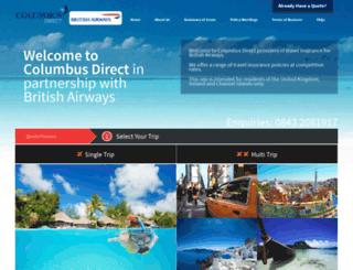 thetravelinsurancewebsite.net screenshot