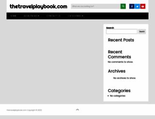 thetravelplaybook.com screenshot