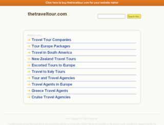thetraveltour.com screenshot