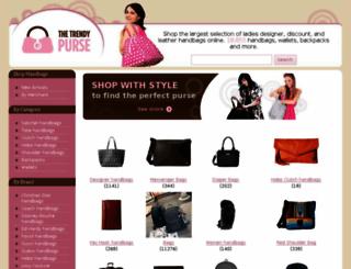 thetrendypurse.com screenshot