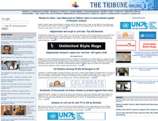 thetribuneonline.com screenshot