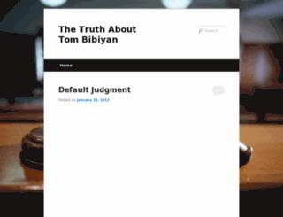 thetruthabouttombibiyan.com screenshot