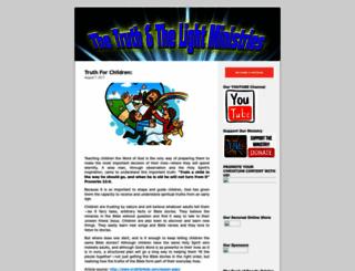 thetruthandlight.wordpress.com screenshot