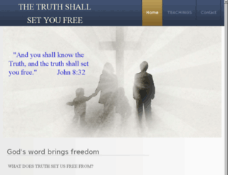 thetruthshallsetyoufree.net screenshot