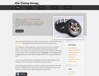 thetuningworks.co.uk screenshot