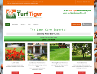 theturftiger.com screenshot