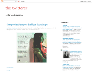 thetwitterer.blogspot.com screenshot