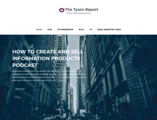 thetysonreport.com screenshot