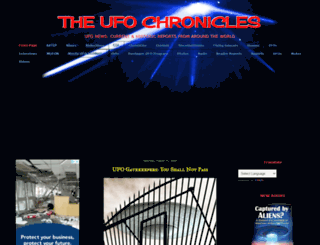 theufochronicles.com screenshot