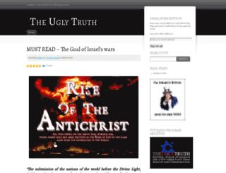 theuglytruth.wordpress.com screenshot