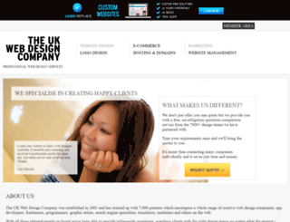 theukwebdesigncompany.com screenshot