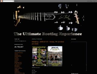 theultimatebootlegexperience7.blogspot.de screenshot
