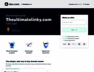 theultimatelinky.com screenshot