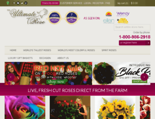 theultimaterose.com screenshot
