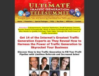 theultimatetrafficsummit.com screenshot