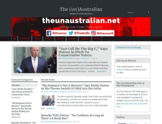 theunaustralian.net screenshot
