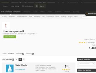 theunexpected1.com screenshot