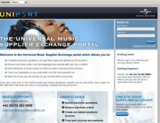theuniport.com screenshot