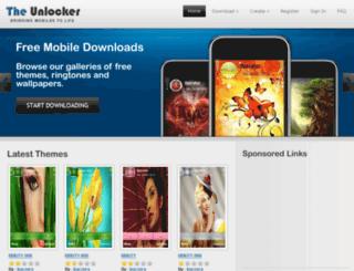 theunlocker.co.uk screenshot