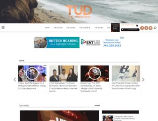 theurbandaily.blackplanet.com screenshot