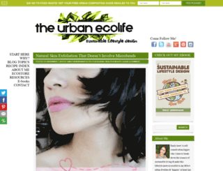 theurbanecolife.com screenshot