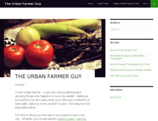theurbanfarmerguy.com screenshot