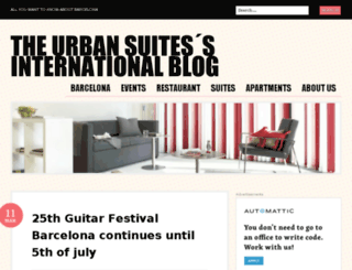 theurbansuitesinternational.wordpress.com screenshot
