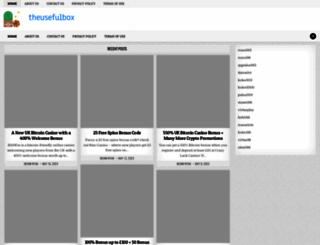 theusefulbox.com screenshot