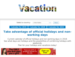 thevacationdays.com screenshot