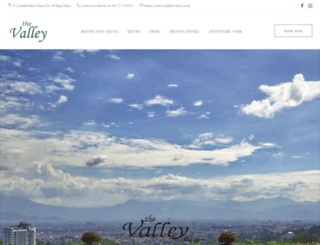 thevalley.co.id screenshot