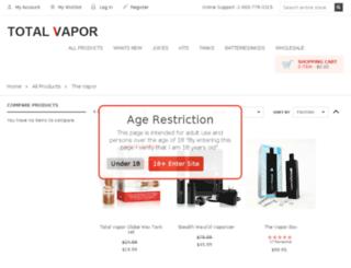 thevapor.com screenshot
