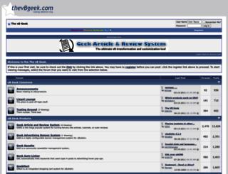 thevbgeek.com screenshot