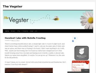 thevegster.wordpress.com screenshot