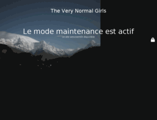 theverynormalgirls.com screenshot