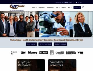 thevetrecruiter.com screenshot