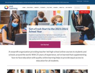 thevhscollaborative.org screenshot