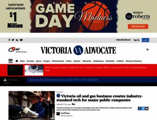 thevictoriaadvocate.com screenshot