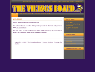 thevikingsboard.com screenshot