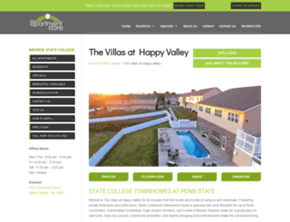 thevillasathappyvalley.apartmentstore.com screenshot