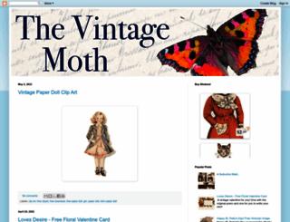 thevintagemoth.blogspot.com screenshot