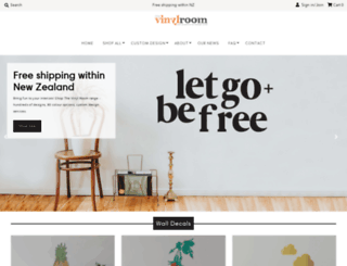 thevinylroom.co.nz screenshot