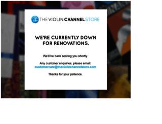 theviolinchannelstore.com screenshot