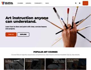thevirtualinstructor.com screenshot