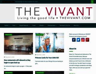 thevivant.com screenshot