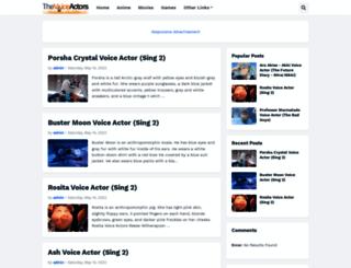 thevoiceactors.blogspot.ro screenshot