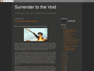 thevoid99.blogspot.com screenshot