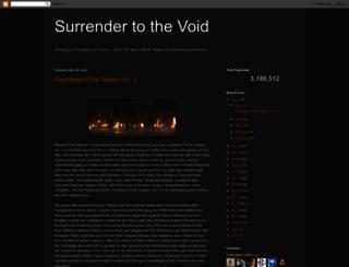 thevoid99.blogspot.com screenshot